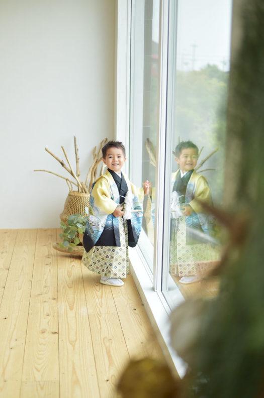 宝塚市 七五三 3歳男の子 5歳男の子
