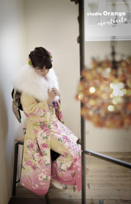 宝塚市 成人式 前撮り 振袖