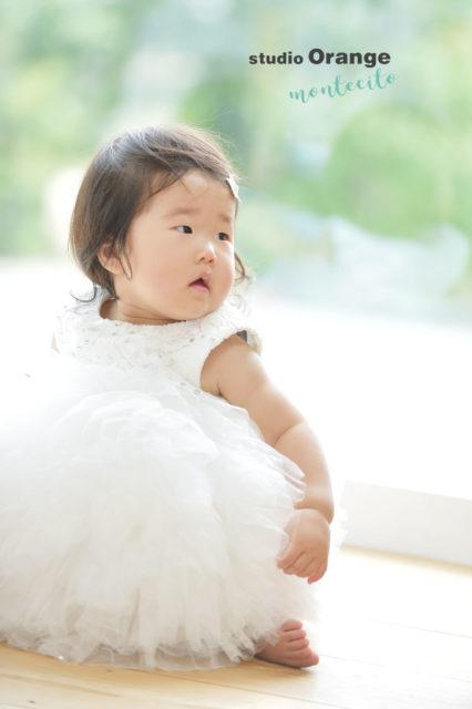 宝塚 双子 お誕生日写真 リンクコーデ