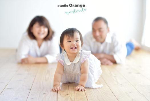 宝塚市 バースデー 家族写真