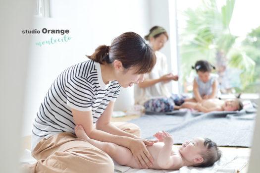 宝塚市 ベビーマッサージ ベビマ教室