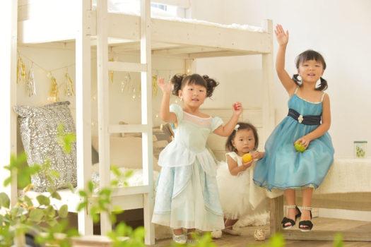 宝塚 七五三 3姉妹