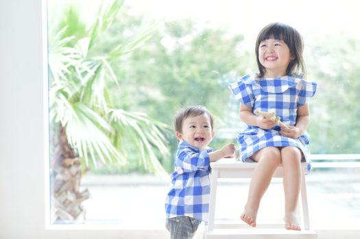 宝塚 お誕生日フォト 姉弟写真 リンクコーデ