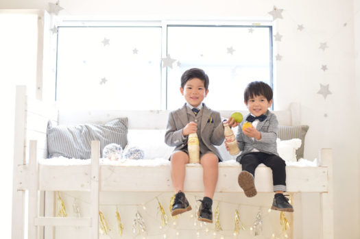宝塚市 七五三 5歳男の子 3歳男の子