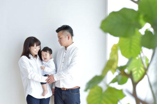 川西 お誕生日撮影 家族写真
