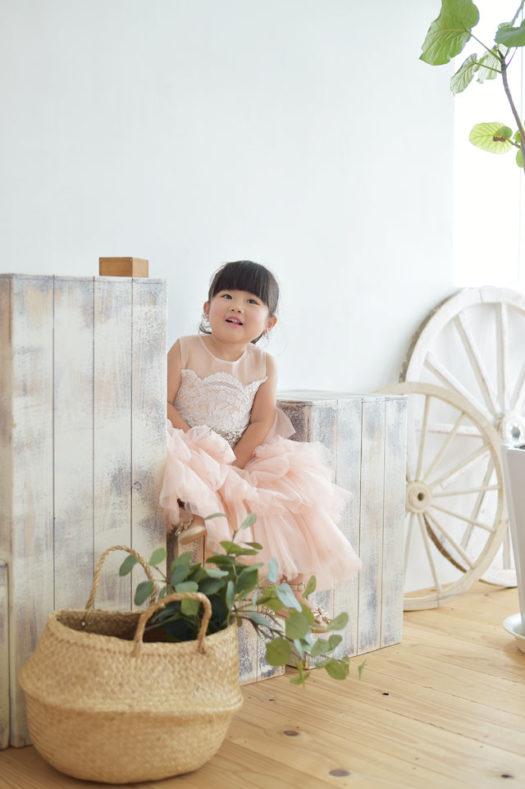 伊丹 七五三 3歳 ドレス カジュアル衣装