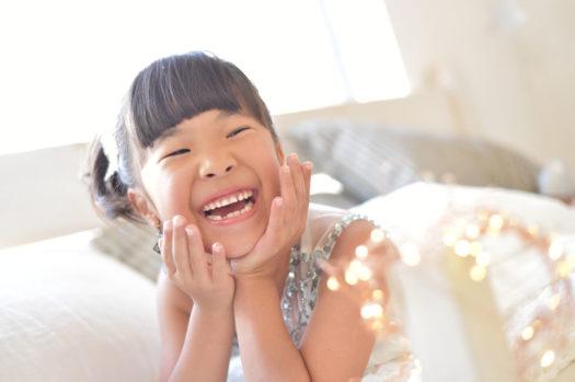 宝塚市 7歳 七五三 スタジオ衣装 ドレス