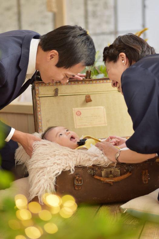 伊丹市 お宮参り 家族写真