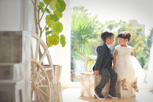 伊丹 七五三 3歳 ドレス カジュアル衣装 兄弟