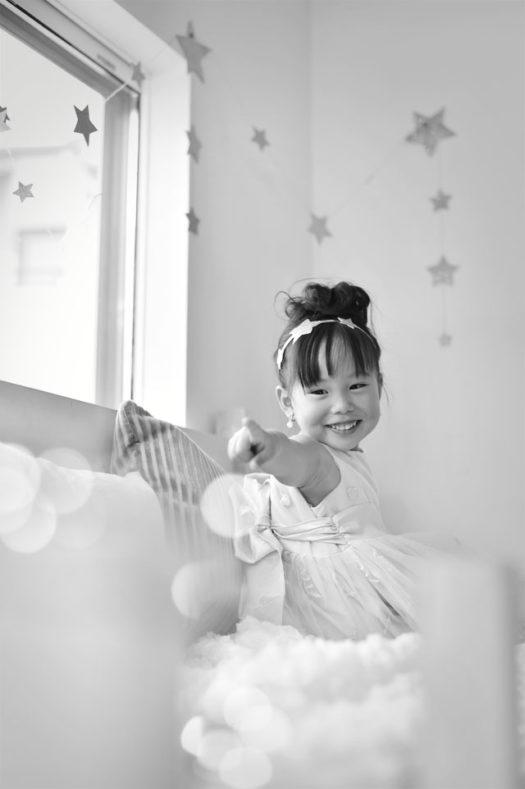 中山寺 七五三 3歳女の子 ドレス