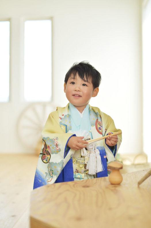 宝塚市 七五三 3歳男の子