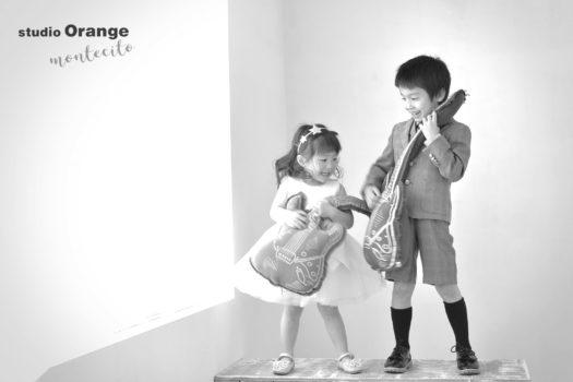 宝塚市 七五三 3歳 5歳 兄妹 洋装撮影