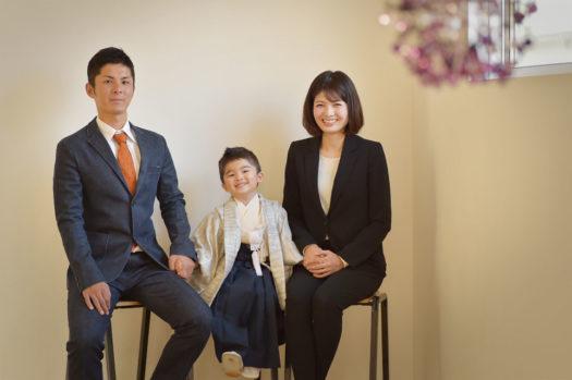 宝塚市 七五三 3歳 家族写真