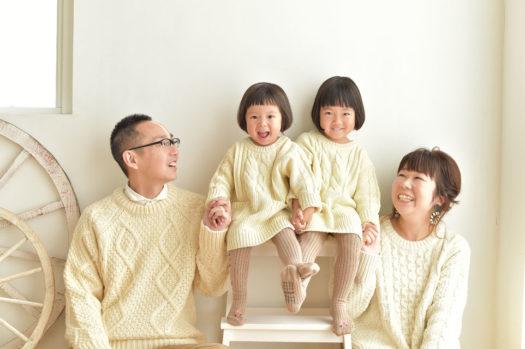 ナチュラル 家族写真 関西フォトスタジオ