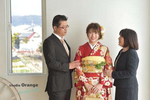 宝塚市 家族写真 成人式 前撮り