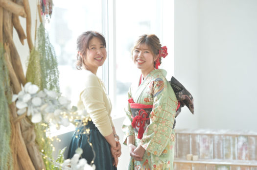 豊中市 成人式 家族写真