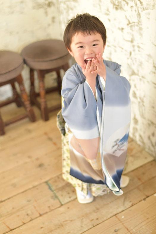 宝塚市 七五三 羽織袴