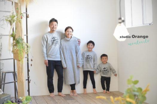 宝塚市 写真館 七五三 男の子 家族写真