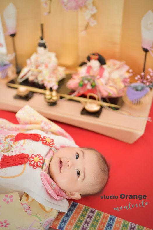 宝塚 ひな祭りフォト 桃の節句 節句撮影 雛人形