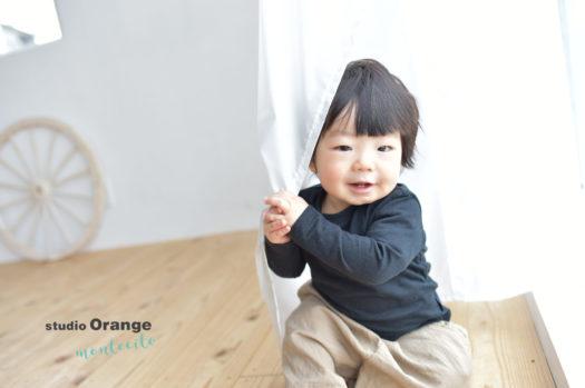 宝塚市 写真館 お誕生日撮影 男の子