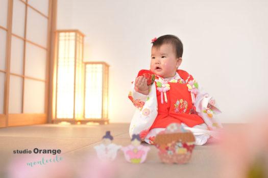宝塚市 桃の節句 ひな祭り 雛人形 写真 着物
