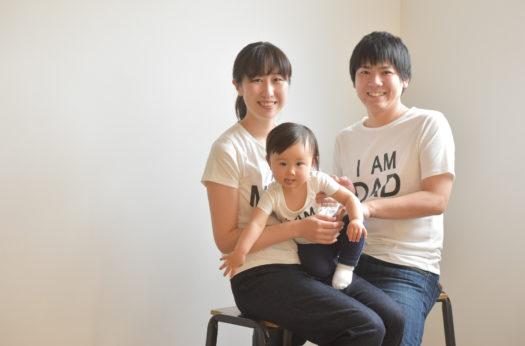 川西市 雛祭り 家族写真