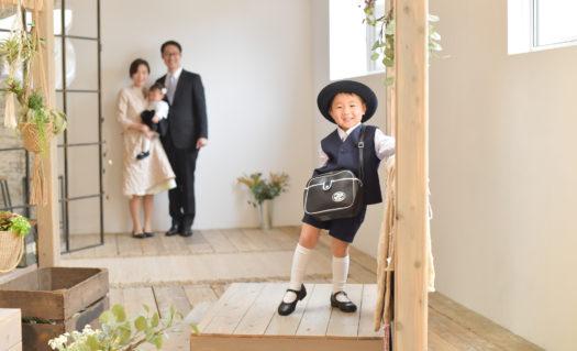 宝塚市 入園記念 男の子