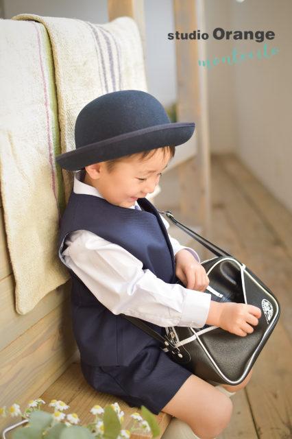 伊丹市 入園記念 写真撮影 制服 男の子