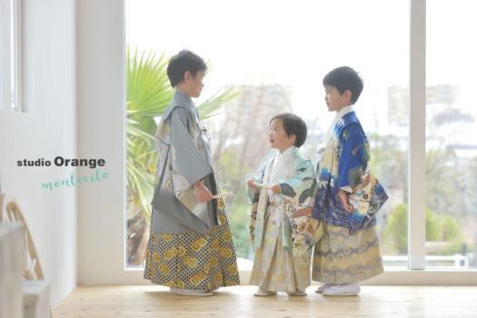 スタジオオレンジ モンテシート 七五三 中山寺