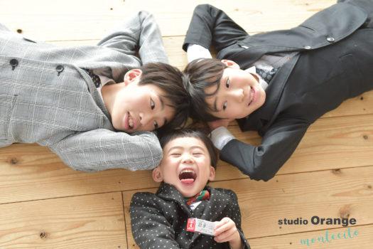 宝塚 七五三前撮り 3歳男の子