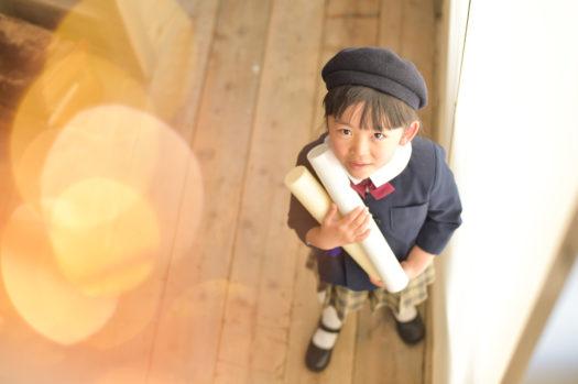 宝塚市 入学式 女の子 写真撮影