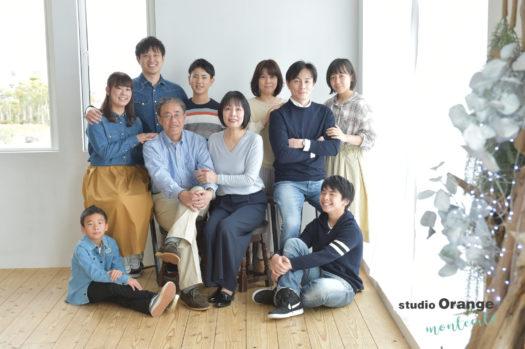 宝塚市 写真館 家族撮影