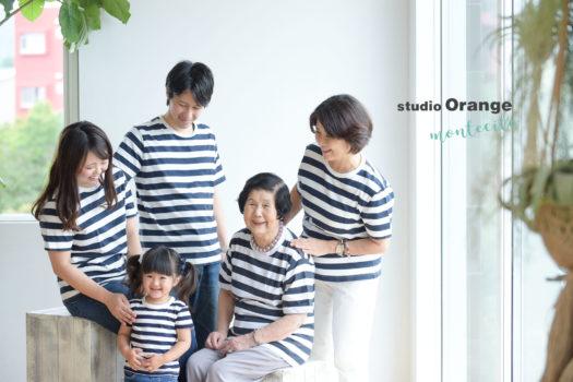 川西市 家族写真