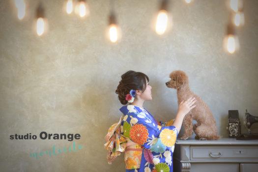 川西市 犬と撮れる写真館