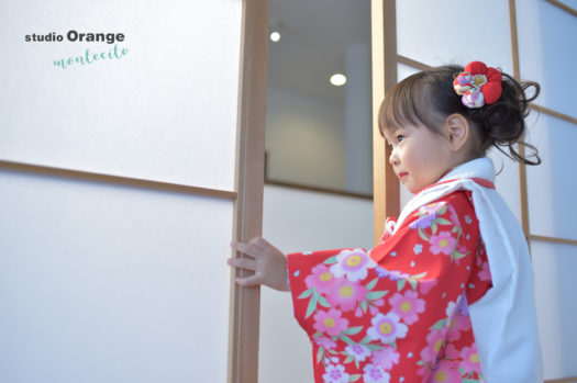宝塚市 七五三 三歳