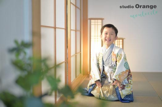 宝塚市 七五三 カジュアル 自然な雰囲気