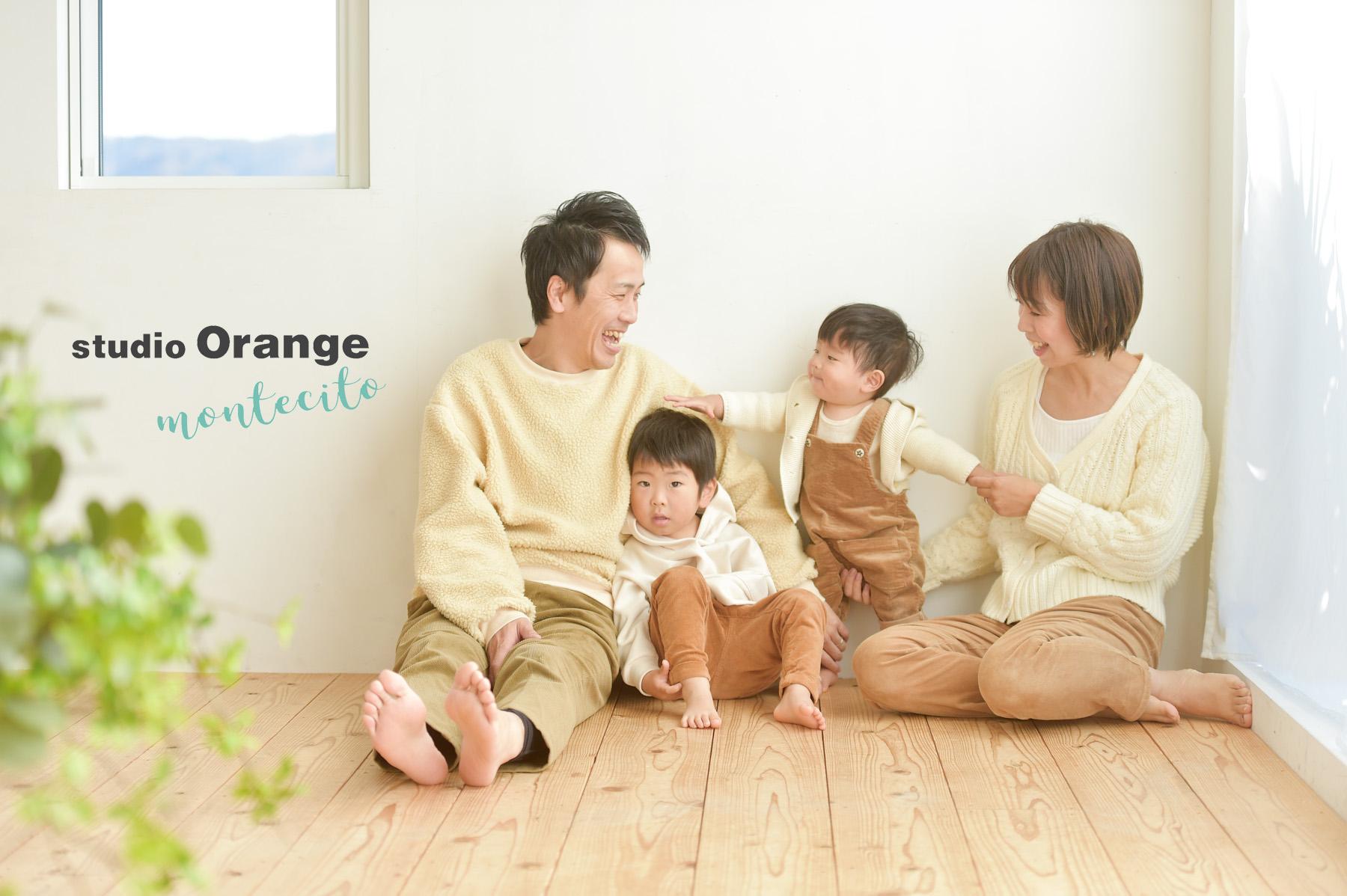 三田市 お誕生日撮影 リンクコーデ