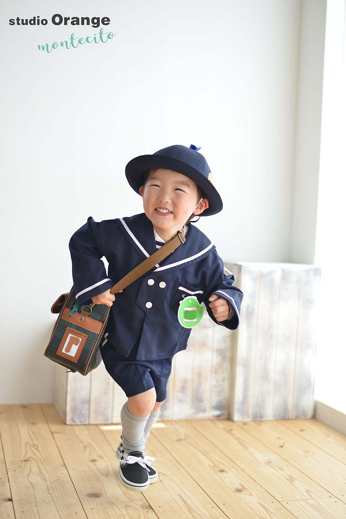 宝塚市 幼稚園入園記念 制服