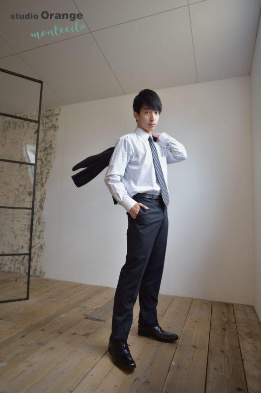 宝塚市 大学入学記念 スーツ