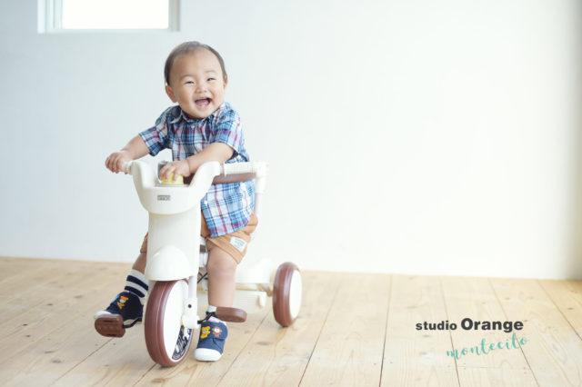 宝塚市 写真館 お誕生日 男の子