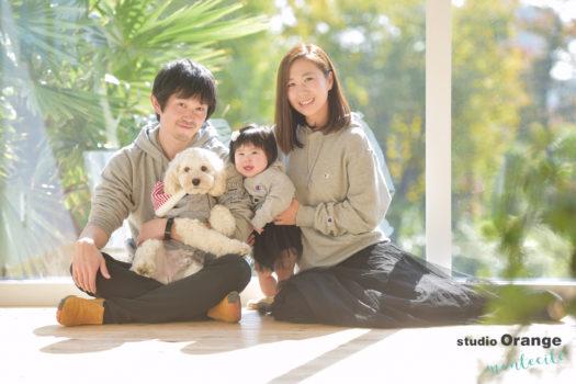 宝塚市 写真館 家族写真 ペット