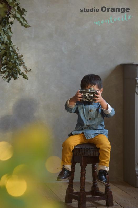 宝塚 七五三撮影 3歳男の子 カジュアル