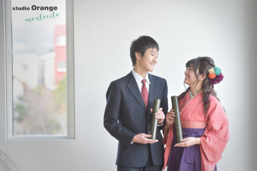 宝塚市 大学卒業記念 袴写真撮影