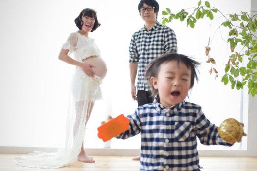 宝塚市 マタニティフォト 第二子