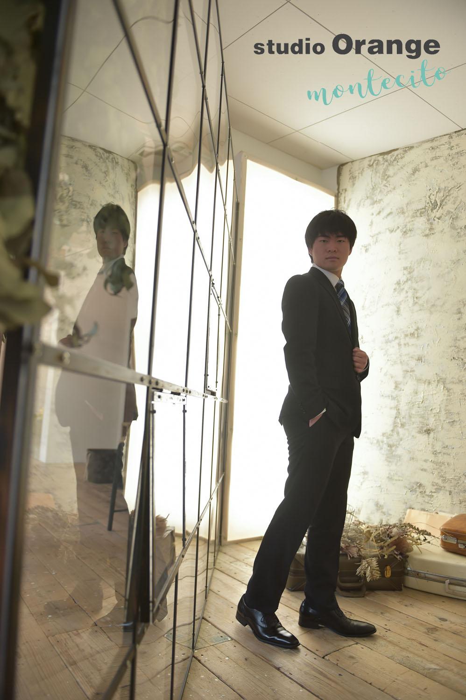 豊中市 男性成人 スーツ