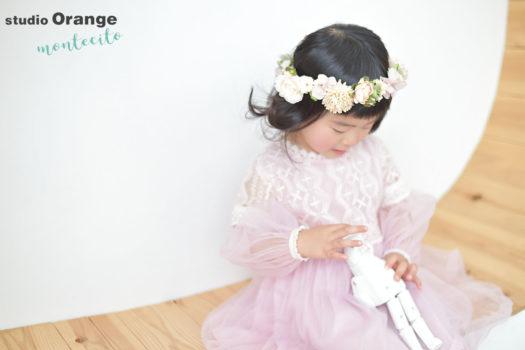 七五三 3才女の子 ドレス