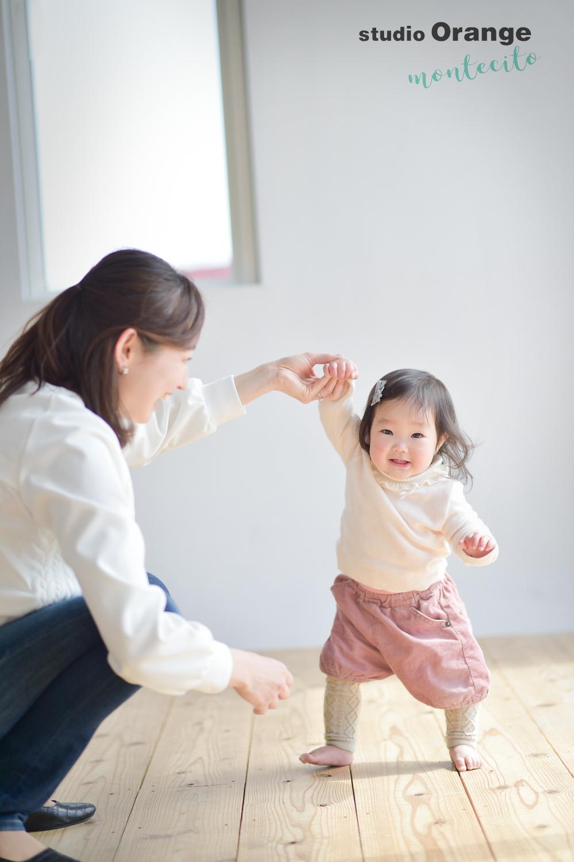 宝塚市 お誕生日撮影 ナチュラル 家族写真