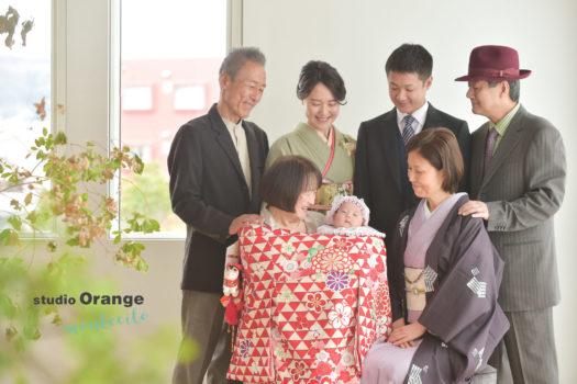 お宮参り 宝塚 写真館 スタジオオレンジモンテシート