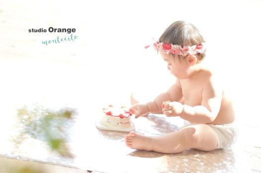お誕生日 女の子 スマッシュケーキ