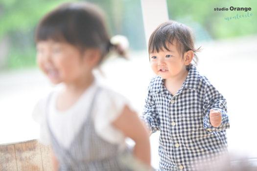 神戸市 バースデーフォト 1才男の子